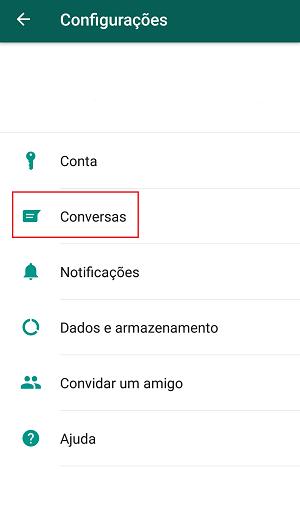 backup das conversas do whatsapp