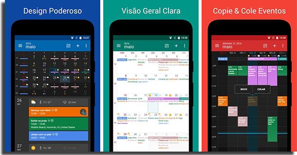 aplicativos de calendário digical