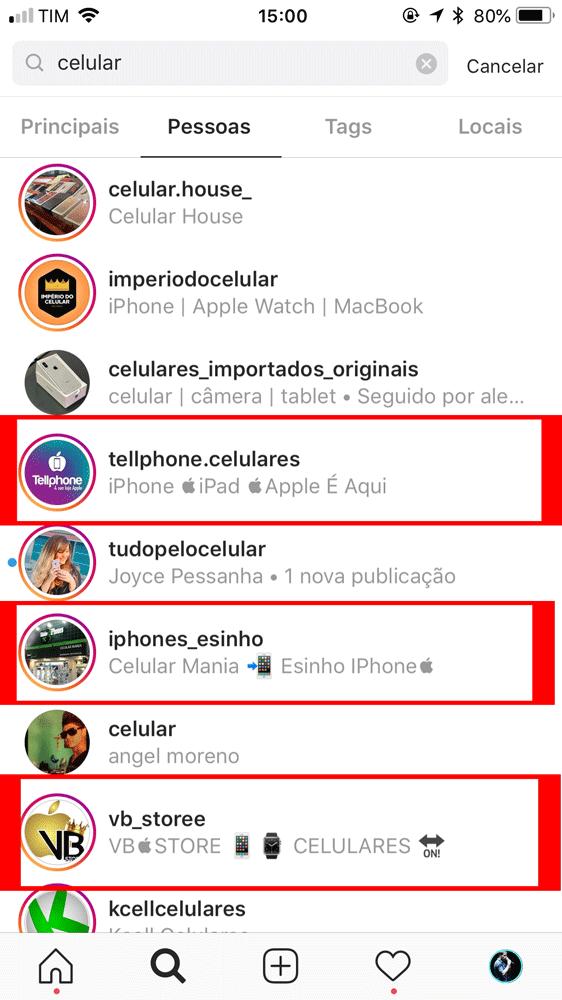 emoji na biografia do Instagram