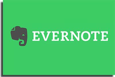 aplicativos para fazer anotações Evernote