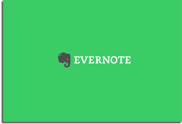 apps de anotações evernote