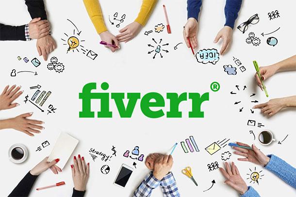 Fiverr remote work websites