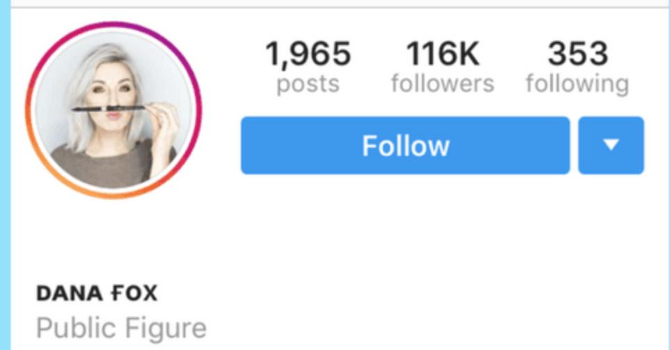 fonte diferente na biografia do Instagram