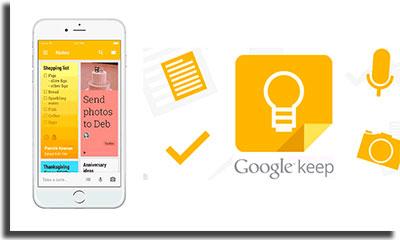 aplicativos para fazer anotações GoogleKeep