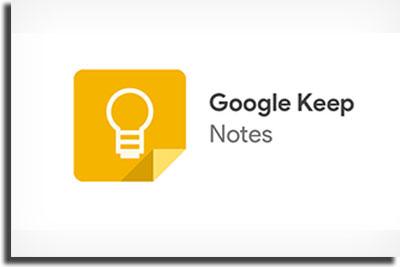 Google Keep best note-taking apps