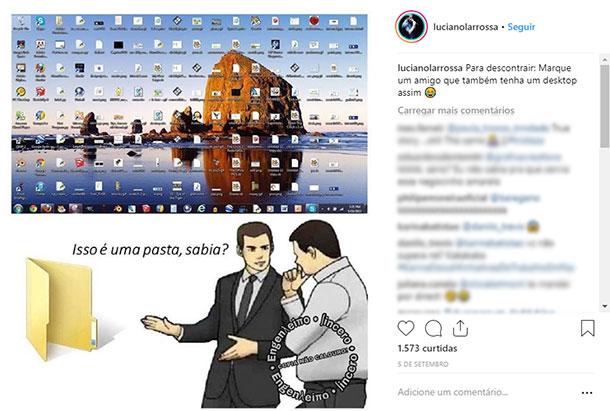 Ideias de posts para Instagram Humor
