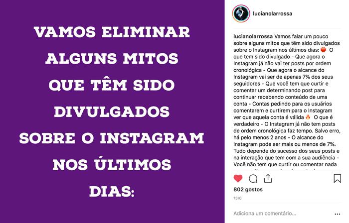 ideias criativas conteudo Instagram