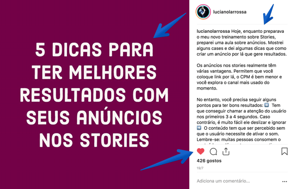 Ideias de Posts para Instagram Tutorial