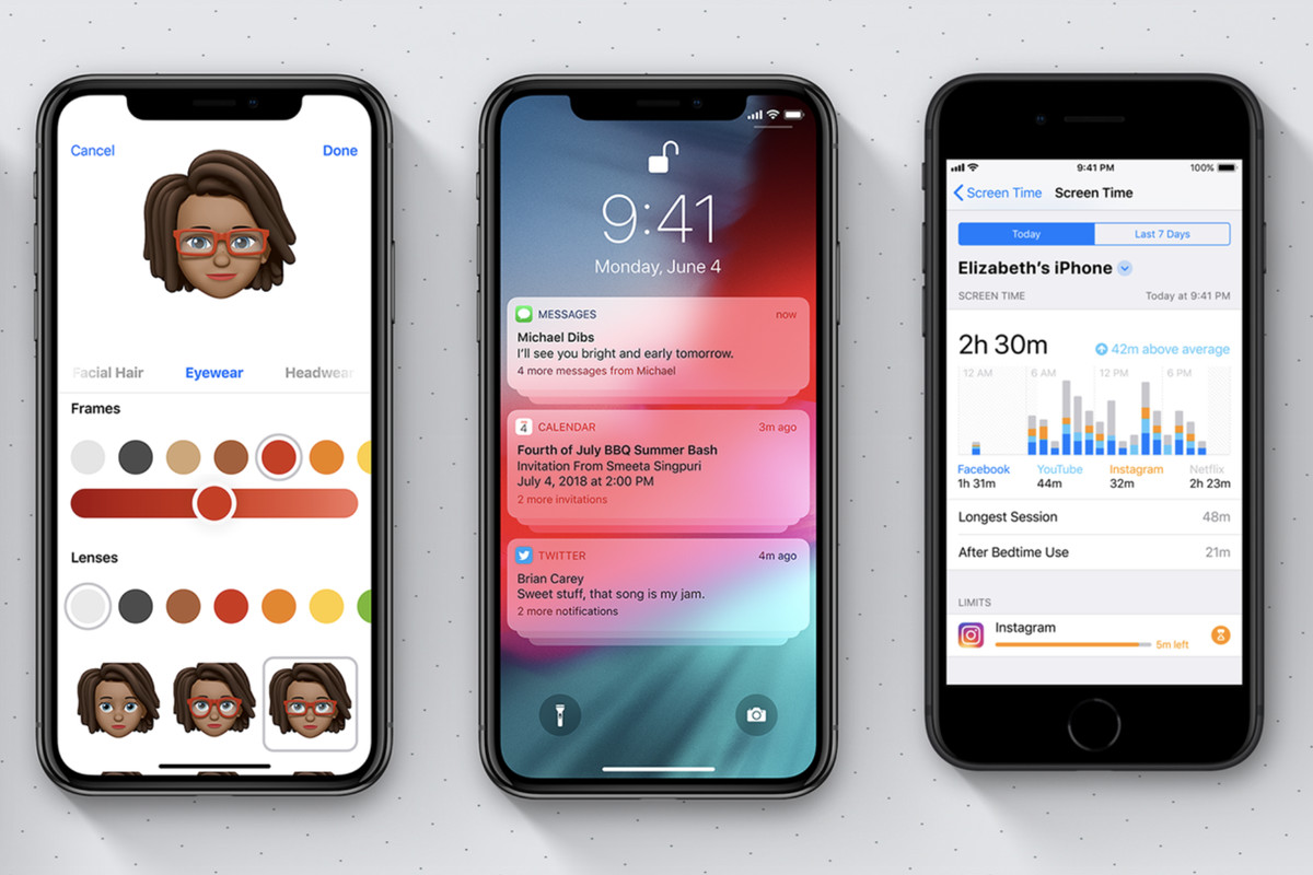 ios 12 no iphone