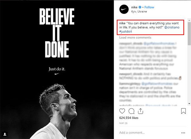 Ideias de posts para Instagram Motivação