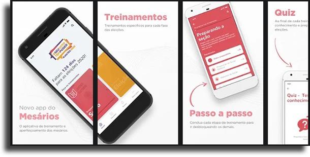 Mesário apps para se manter informado das eleições de 2022