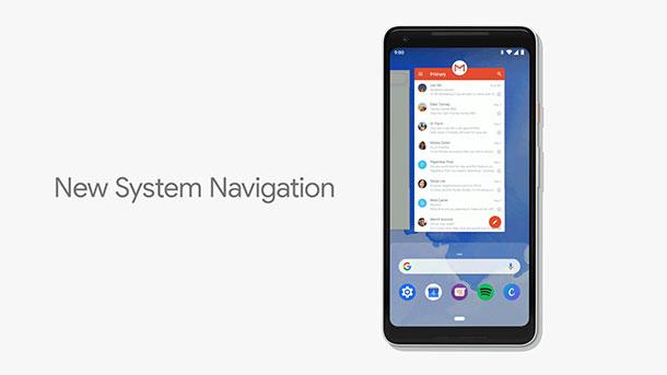 android-pie-navegação