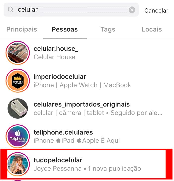 nome tematico instagram
