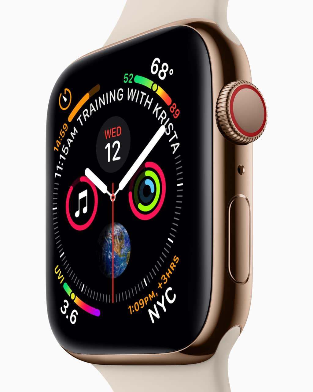 novidades do apple watch