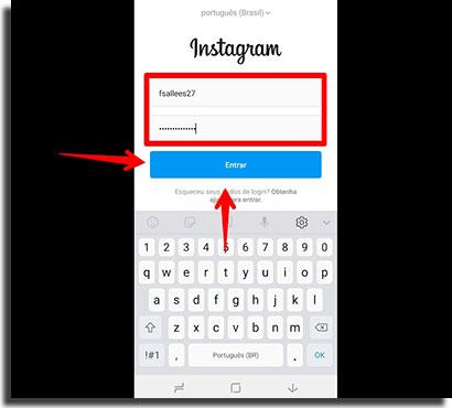 novidades do instagram nao aparecem login