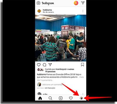 novidades do instagram nao aparecem perfil