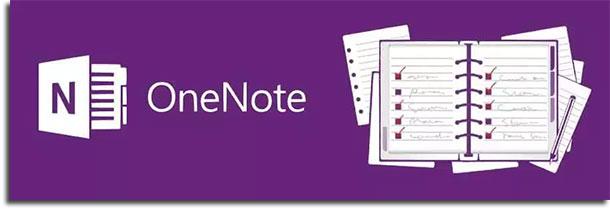 apps de anotações onenote