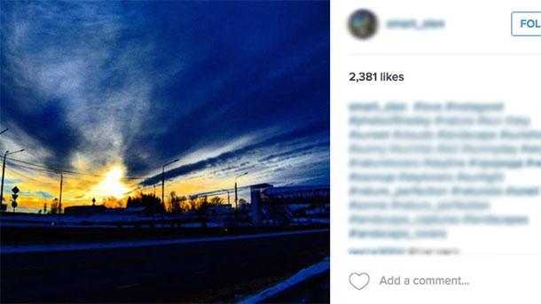 Ideias de posts para Instagram Paisagem
