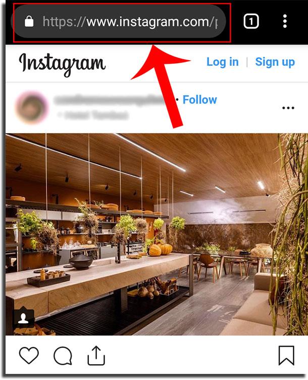 copiar textos do instagram passo 2
