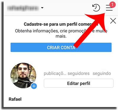 stories não carregam reportar problema passo 1