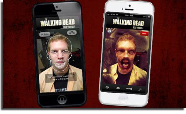 apps para mudar o rosto the walking dead