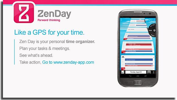 aplicativos de calendário zenday