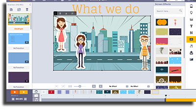 criar arte online animaker
