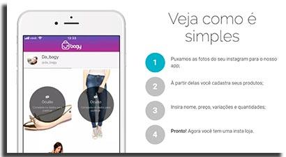 aplicativos para ecommerce bagy