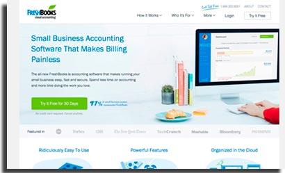 aplicativos para ecommerce freshbooks