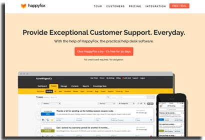 aplicativos para ecommerce happyfox