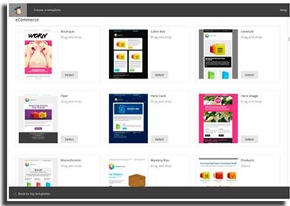 aplicativos para ecommerce mailchimp
