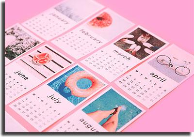 melhor horário para postar no Instagram calendário