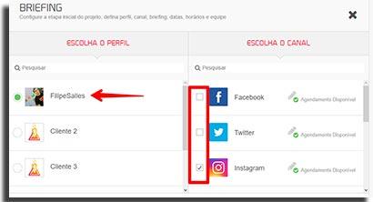 gerenciar midias sociais mlabs perfilworkflow
