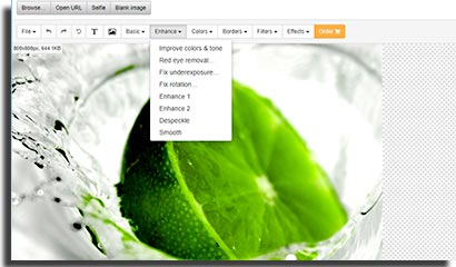 sites para fazer montagens online freephotoeditor
