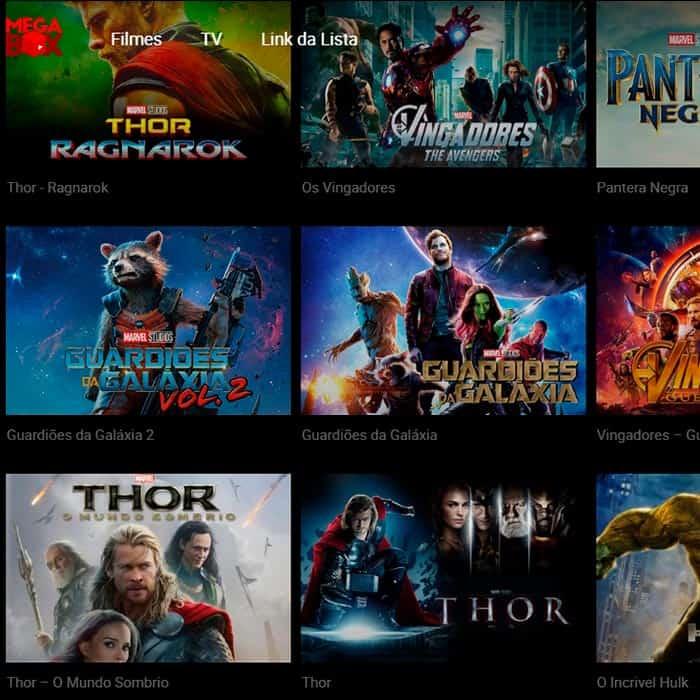 MegaBox – Assista TV, filmes e séries na internet!