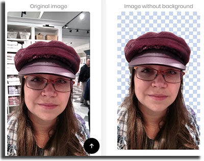 remover o fundo das suas imagens celular resultado final