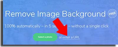 remover o fundo das suas imagens enter a URL