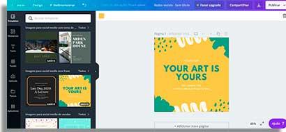 aplicativos para fazer capas no instagram canva2