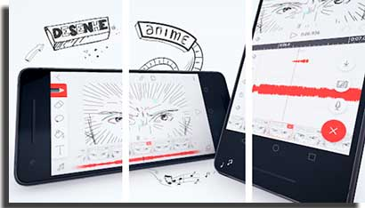 apps para fazer animacoes no celular flipaclip