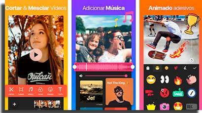 apps para fazer animacoes no celular inshot