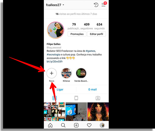 como criar capas de destaque no instagram criardestaque