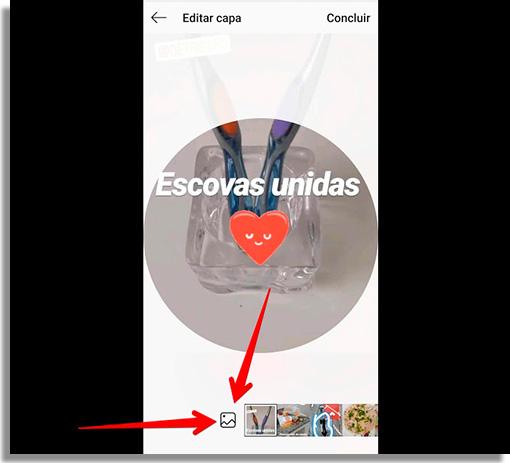 como criar capas de destaque no instagram galeria