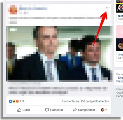 como denunciar fake news facebook