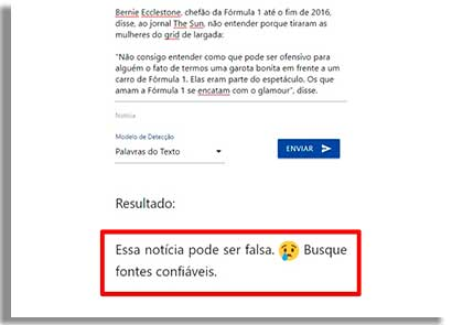 como denunciar fake news falsa