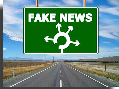como denunciar fake news placa