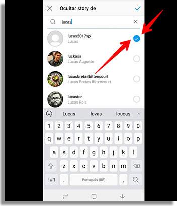 como esconder o story do instagram botao2