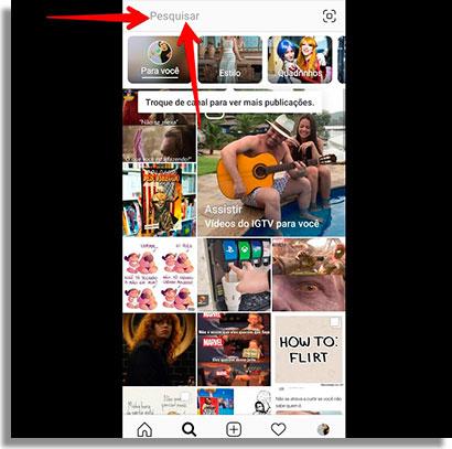 como esconder o story do instagram pesquisa2