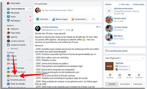 como ganhar dinheiro no facebook empregos