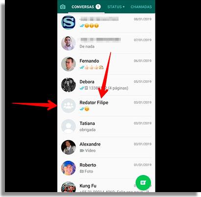 como responder mensagens de grupos no WhatsApp grupo2