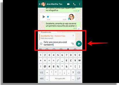como responder mensagens de grupos no WhatsApp resposta2